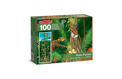Melissa & Doug Rainforest Jumbo Jigsaw Floor Puzzle 100pc Deal