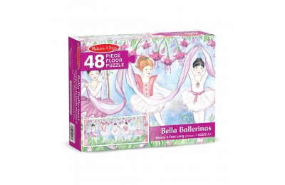 Melissa & Doug Bella Ballerina Jumbo Jigsaw Floor Puzzle 48pc Deal