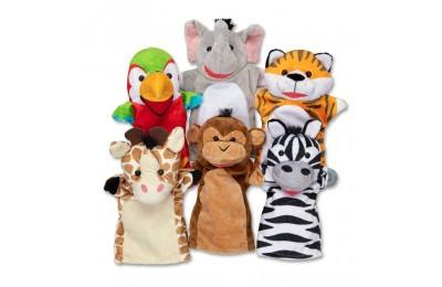 Melissa & Doug Safari Buddies Hand Puppets Deal