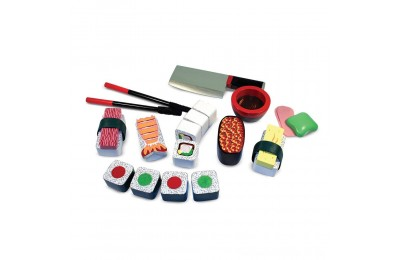 Melissa & Doug Sushi Slicing Wooden Play Food Set Deal