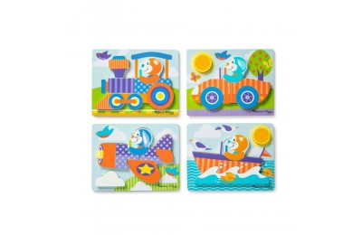 Black Friday 2020 Melissa & Doug First Play 6pc Jigsaw Puzzle Set Vehicles Deal