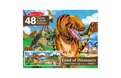 Black Friday 2020 Melissa And Doug Land Of Dinosaurs Floor Puzzle 48pc Deal