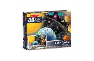Melissa And Doug Solar System Floor Puzzle 48pc Deal