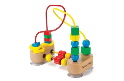 Melissa & Doug First Bead Maze - Wooden Educational Toy Deal