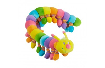 Black Friday 2020 Melissa & Doug Longfellow Caterpillar - Rainbow-Colored Stuffed Animal With 32 Floppy Feet (over 2 feet long) Deal