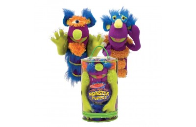 Black Friday 2020 Melissa & Doug Make-Your-Own Fuzzy Monster Puppet Kit With Carrying Case (30pc) Deal