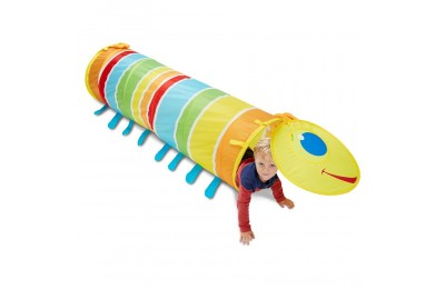 Black Friday 2020 Melissa & Doug Sunny Patch Giddy Buggy Crawl-Through Tunnel (almost 5 feet long) Deal