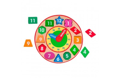 Black Friday 2020 Melissa & Doug Shape Sorting Clock - Wooden Educational Toy Deal