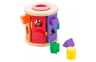 Black Friday 2020 Melissa & Doug Match and Roll Shape Sorter - Classic Wooden Toy Deal