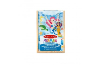 Melissa & Doug Mermaid Magnetic Dress-up Deal