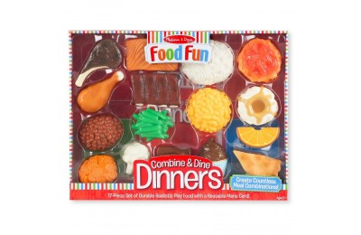 Melissa & Doug Food Fun Combine & Dine Dinners - Red Deal