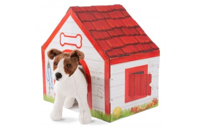 Melissa & Doug Doghouse Plush Pet Playhouse Deal