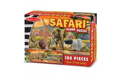 Melissa And Doug African Plains Safari Jumbo Floor Puzzle 100pc Deal