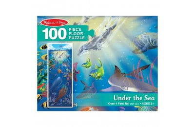 Melissa And Doug Under The Sea Jumbo Floor Puzzle 100pc Deal