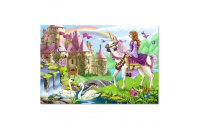 Melissa And Doug Fairy Tale Castle Jumbo Floor Puzzle 24pc Deal