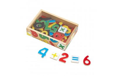 Black Friday 2020 Melissa & Doug 37 Wooden Number Magnets in a Box Deal