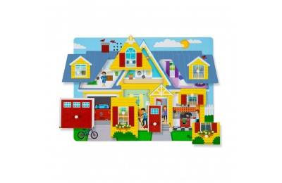 Melissa & Doug Around the House Sound Puzzle Set - 8pc Deal