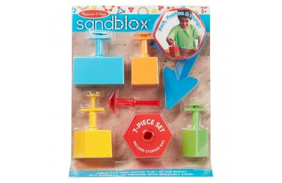 Black Friday 2020 Melissa & Doug Sandblox Sand Shape-and-Mold Tool Set Deal