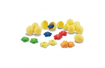 Melissa & Doug Sunny Patch Taffy Turtle Catch and Hatch Pool Game With 10 Turtles and 10 Eggs Deal