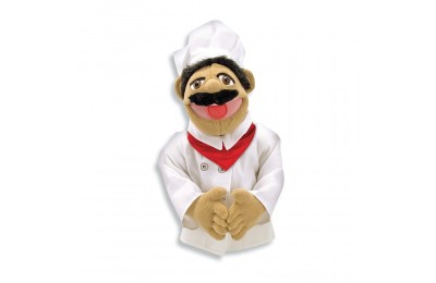Melissa & Doug Chef Puppet With Detachable Wooden Rod Deal