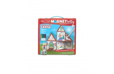 Melissa & Doug Magnetivity - Draw & Build Castle Deal