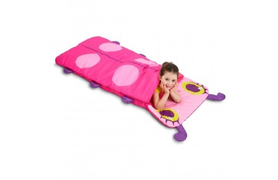 Melissa & Doug Sunny Patch Trixie Ladybug Sleeping Bag With Matching Storage Bag Deal