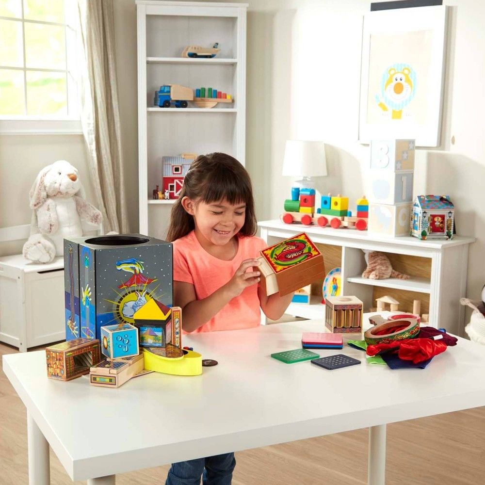 Melissa & Doug Deluxe Solid-Wood Magic Set With 10 Classic Tricks Deal