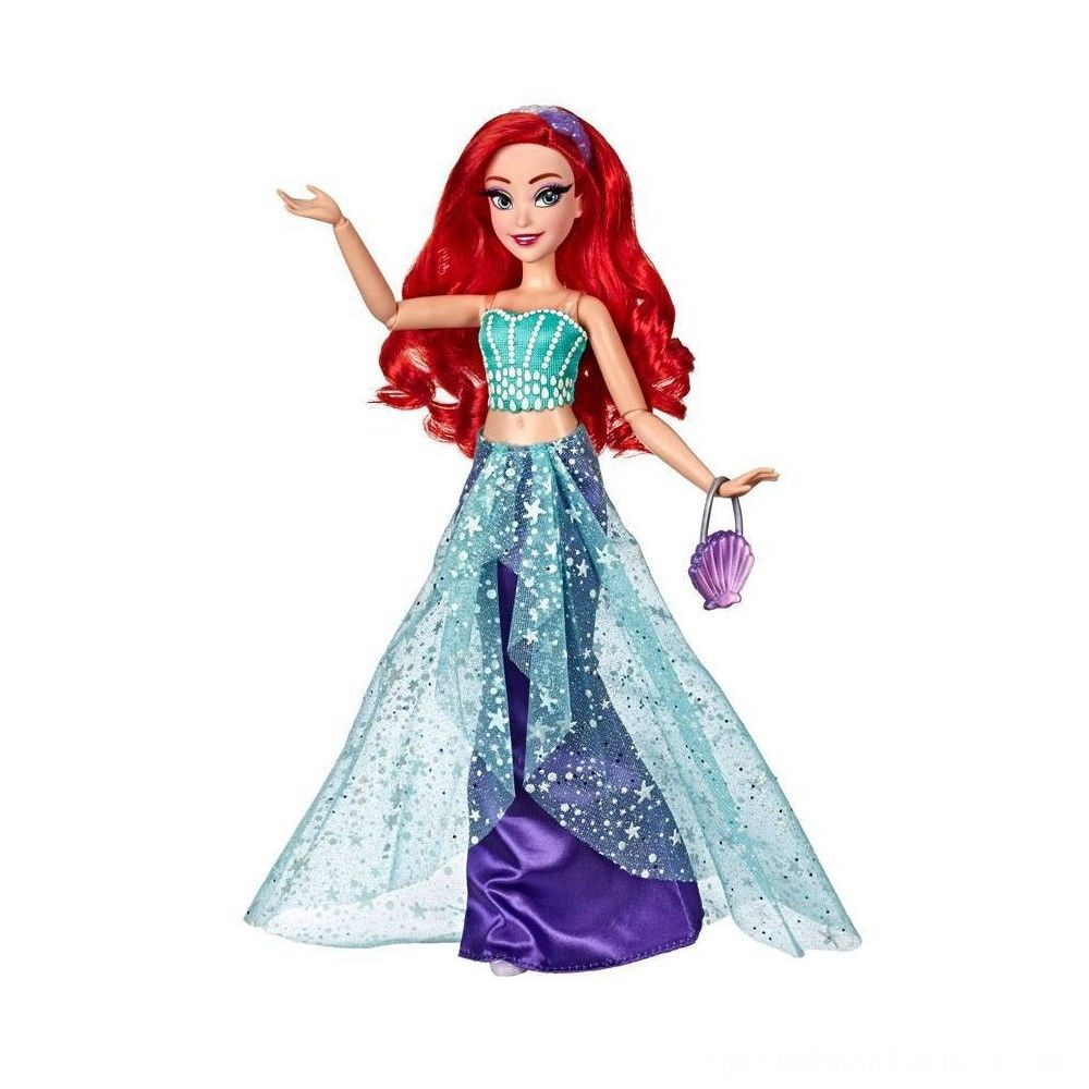 Disney Princess Style Series Ariel Doll with Purse and Shoes Deal