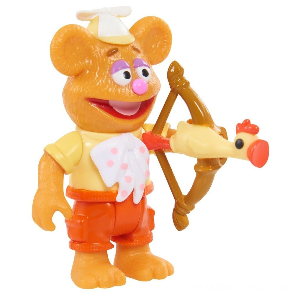 Disney Junior Muppet Babies Poseable Fozzie Deal