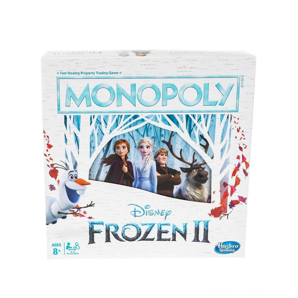 Monopoly Game: Disney Frozen 2 Edition Board Game Deal