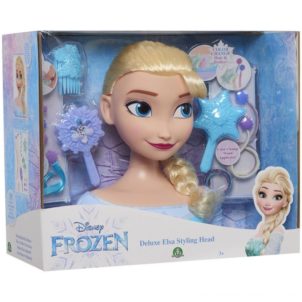 Disney Princess Elsa Deluxe Styling Head Deal