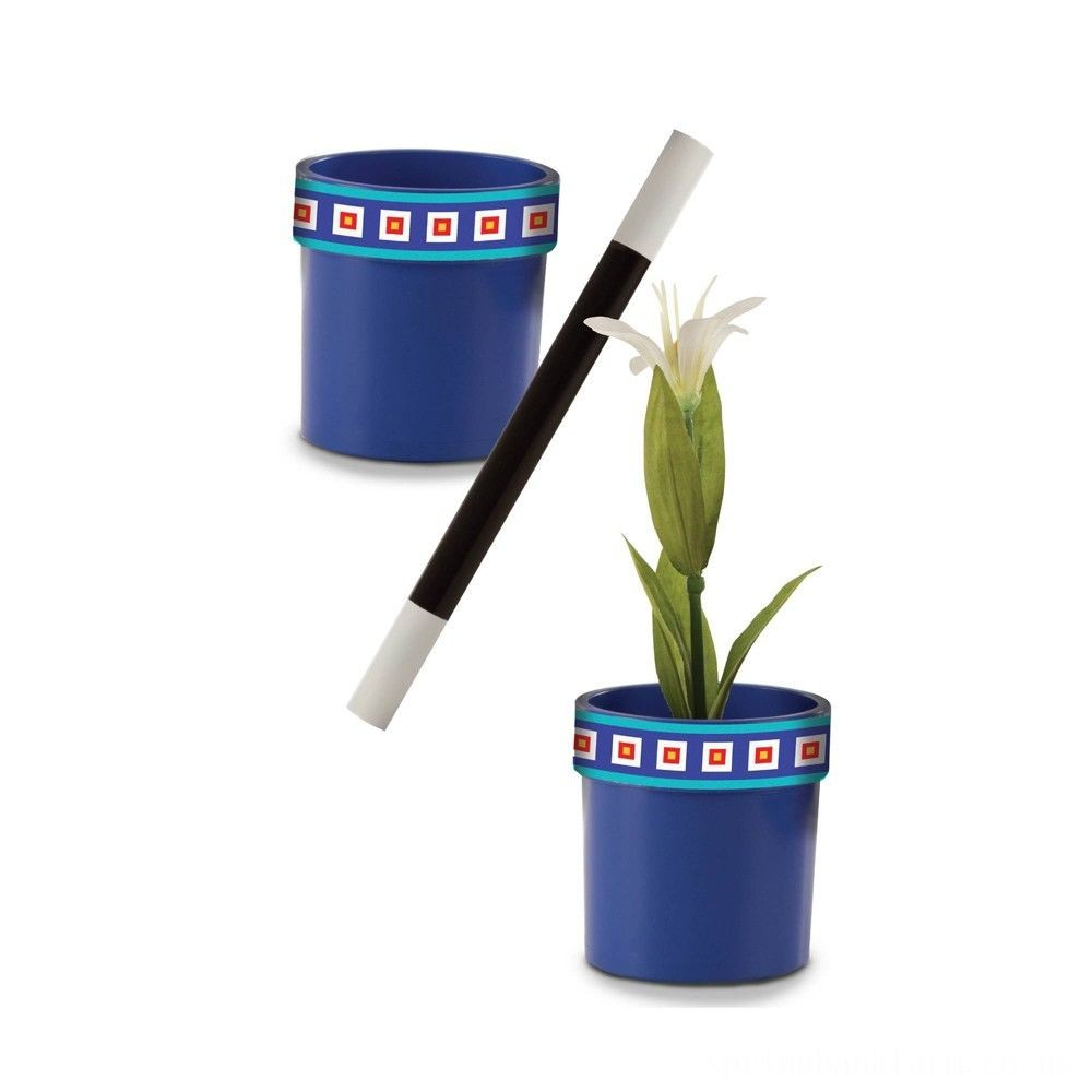 Melissa & Doug Magic in a Snap Magic Flower Pot and Wand Deal