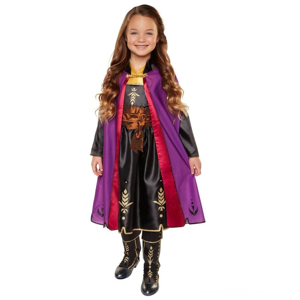 Disney Frozen 2 Anna Travel Dress, Size: Small, MultiColored Deal