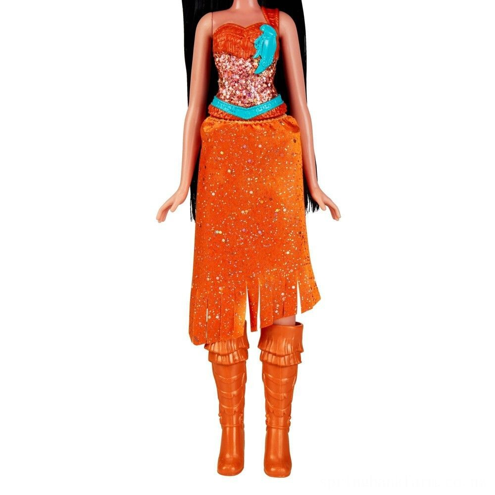 Disney Princess Royal Shimmer - Pocahontas Doll Deal