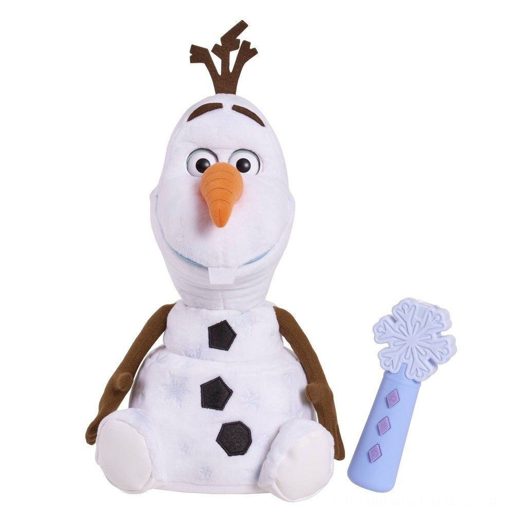 Disney Frozen 2 Follow Me Friend Olaf Deal
