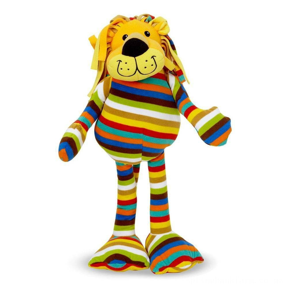 Melissa & Doug Elvis Lion - Patterned Pal Stuffed Animal Deal