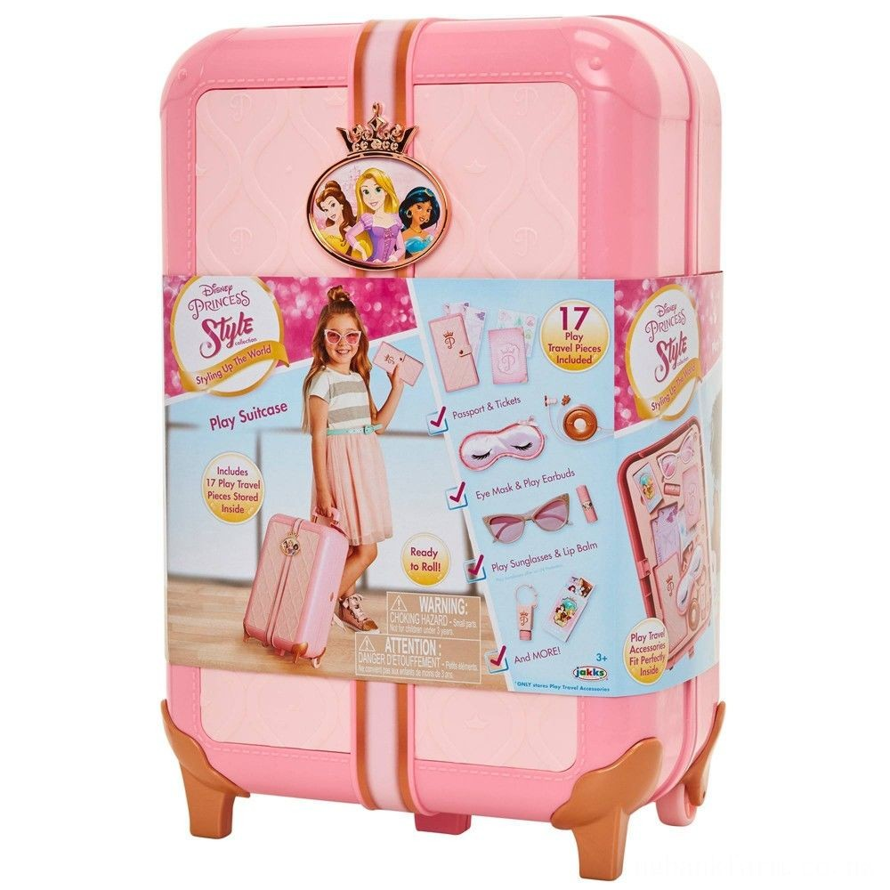 Disney Princess Style Collection Play Suitcase Travel Set Deal