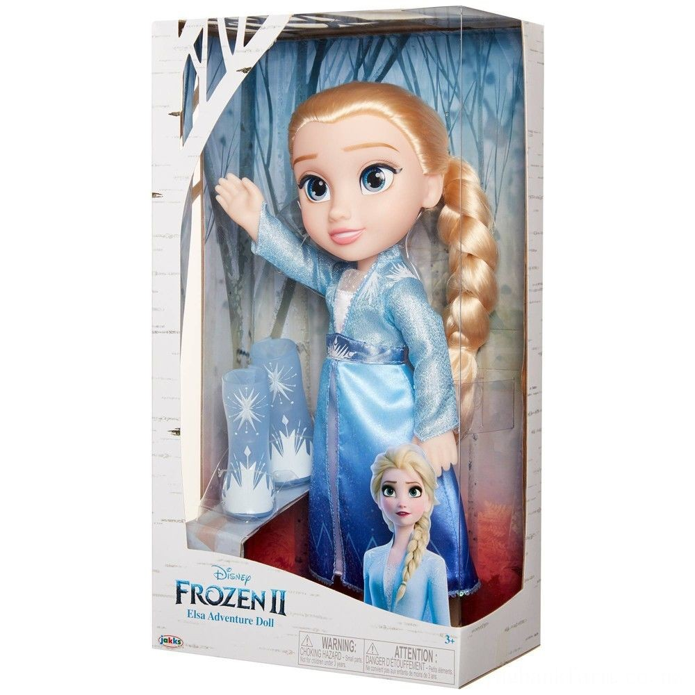 Disney Frozen 2 Elsa Adventure Doll Deal