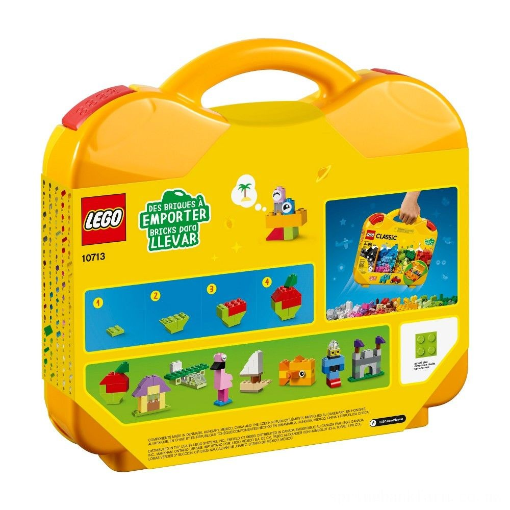 LEGO Classic Creative Suitcase 10713 Deal