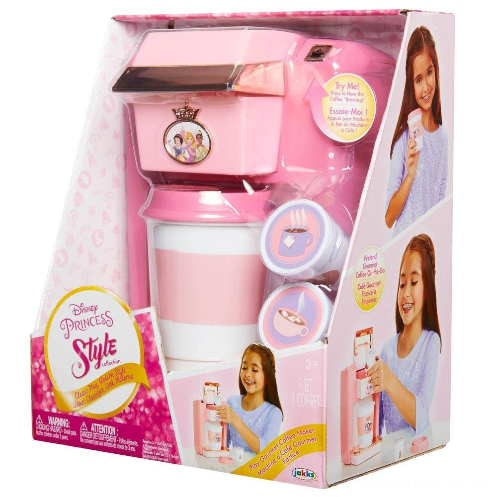 Disney Princess Style Collection Coffee Maker Deal