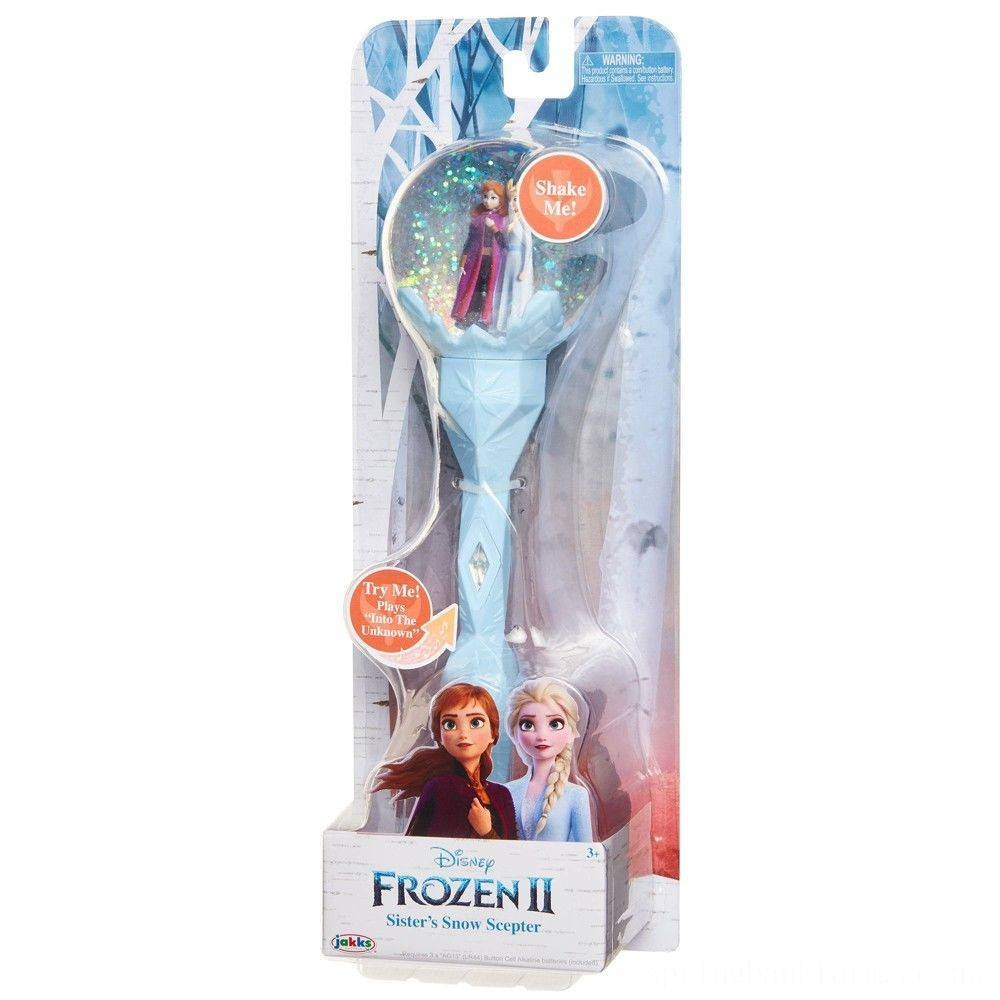 Disney Frozen 2 Sister's Snow Scepter Deal