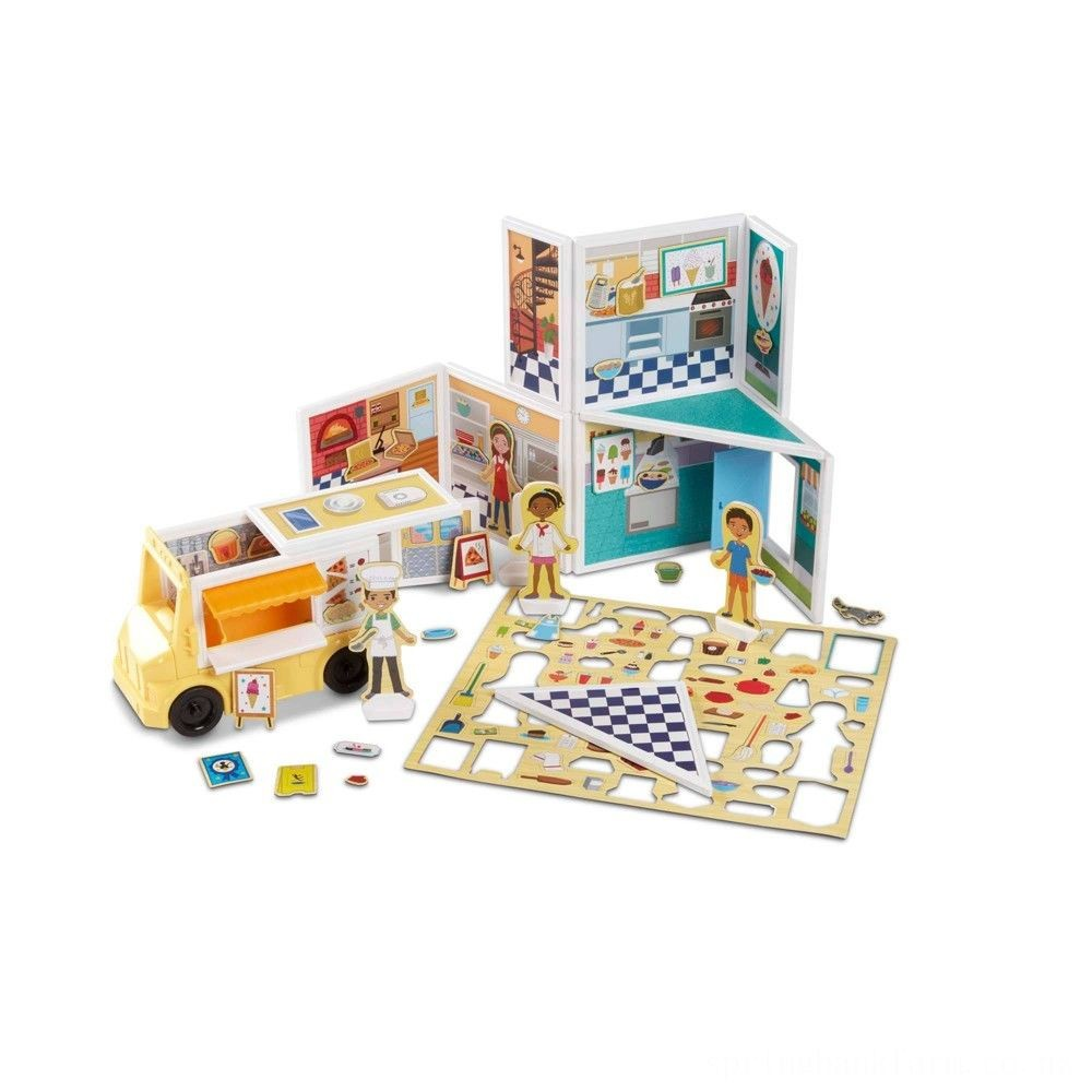 Melissa & Doug Magnetivity - Pizza & Ice Cream Shop Deal