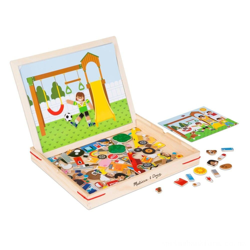 Melissa & Doug Magnetic Matching Picture Game 119pc Deal