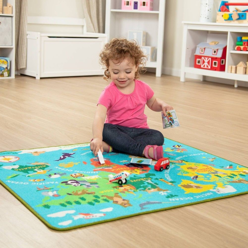 Melissa & Doug Round the World Travel Activity Rug Deal