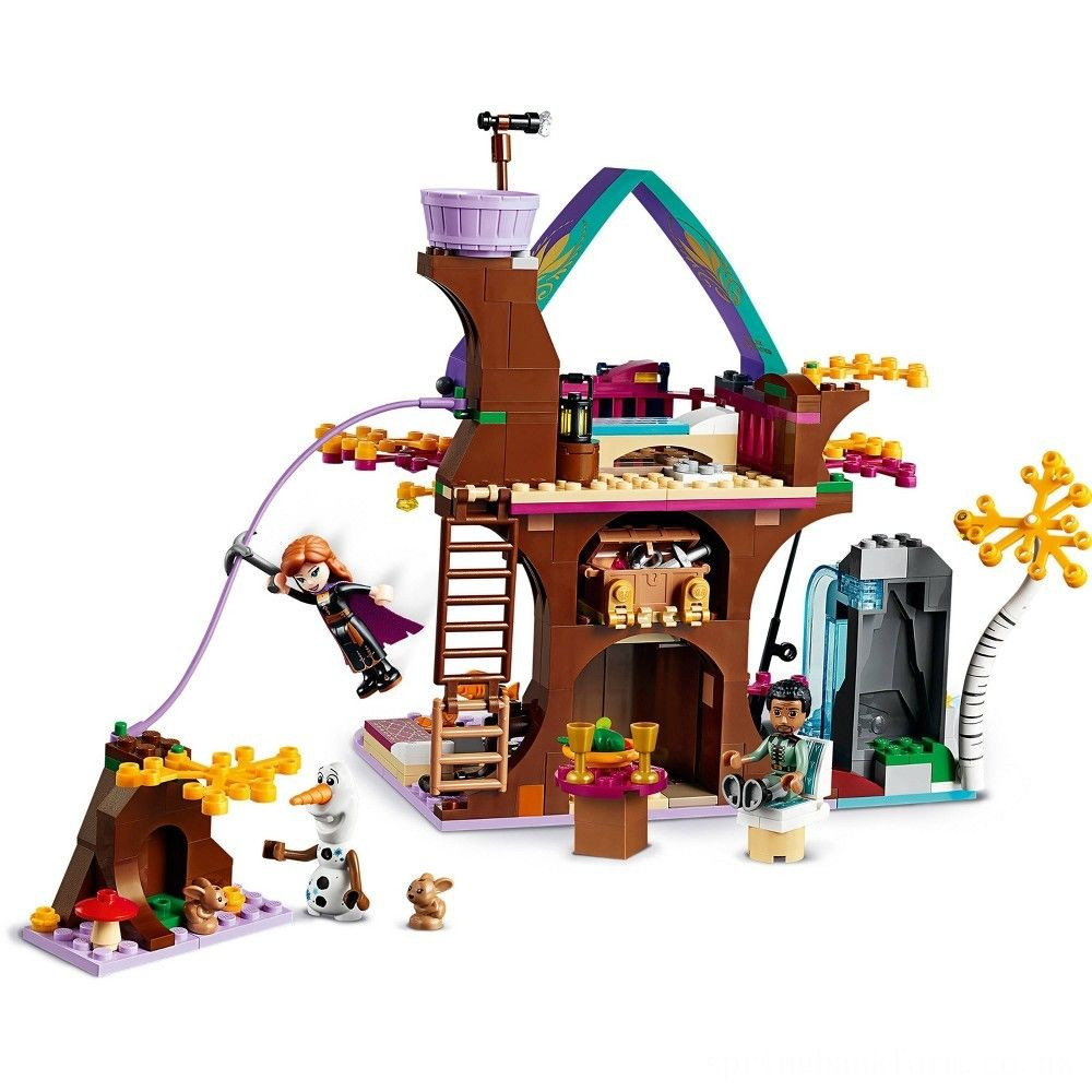 LEGO Disney Princess Frozen 2 Enchanted Treehouse 41164 Toy Treehouse Building Kit for Pretend Play Deal