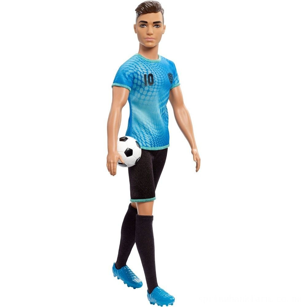Barbie Ken Career Soccer Player Doll Deal