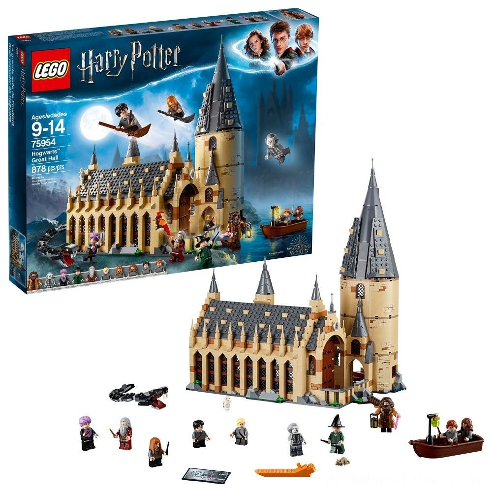 LEGO Harry Potter Hogwarts Great Hall 75954 Deal
