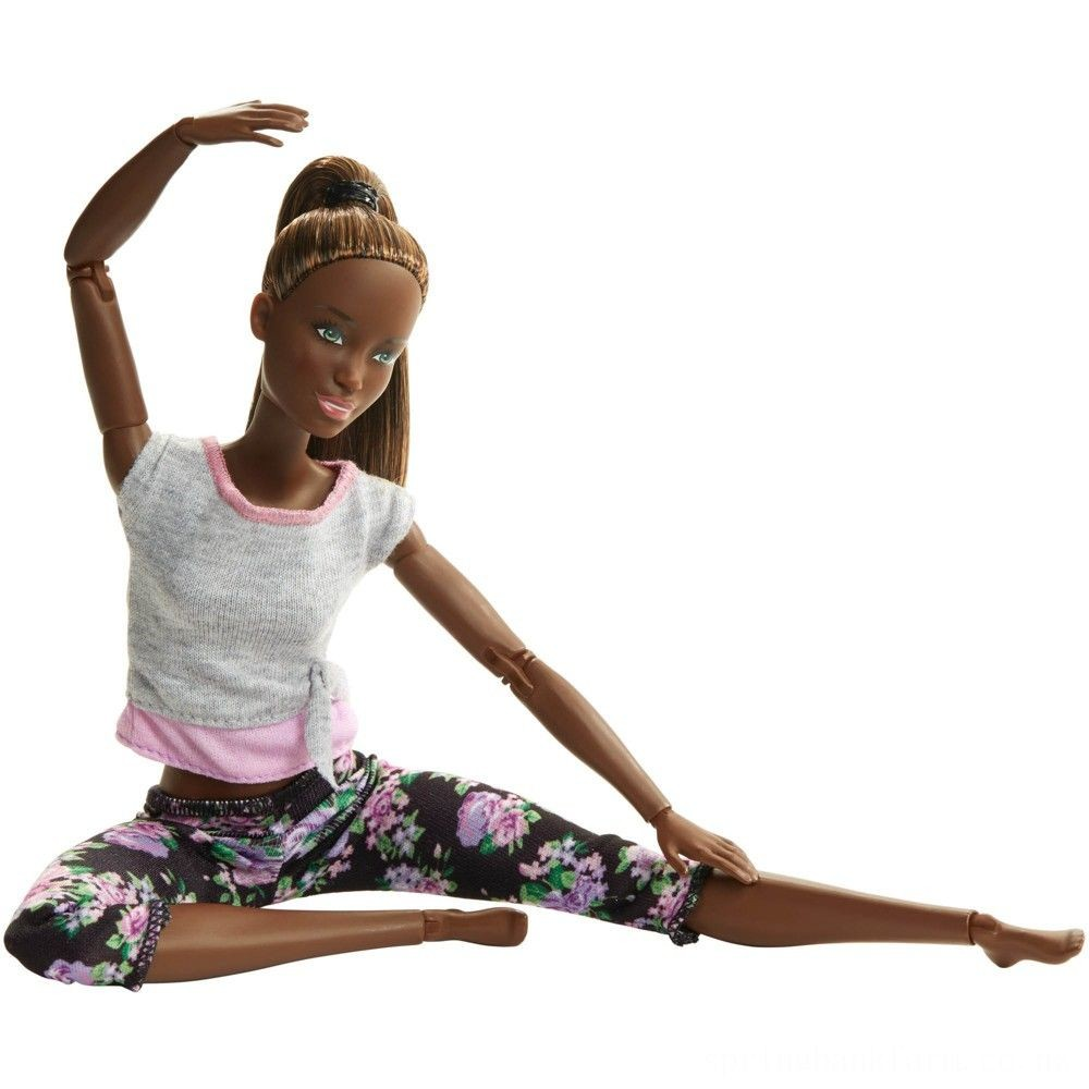 Barbie Made To Move Yoga Nikki Doll Deal