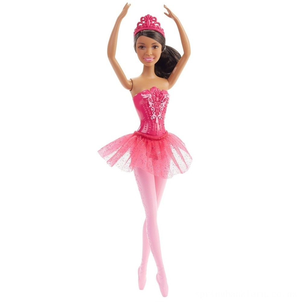 Barbie You Can Be Anything Ballerina Nikki Doll Deal