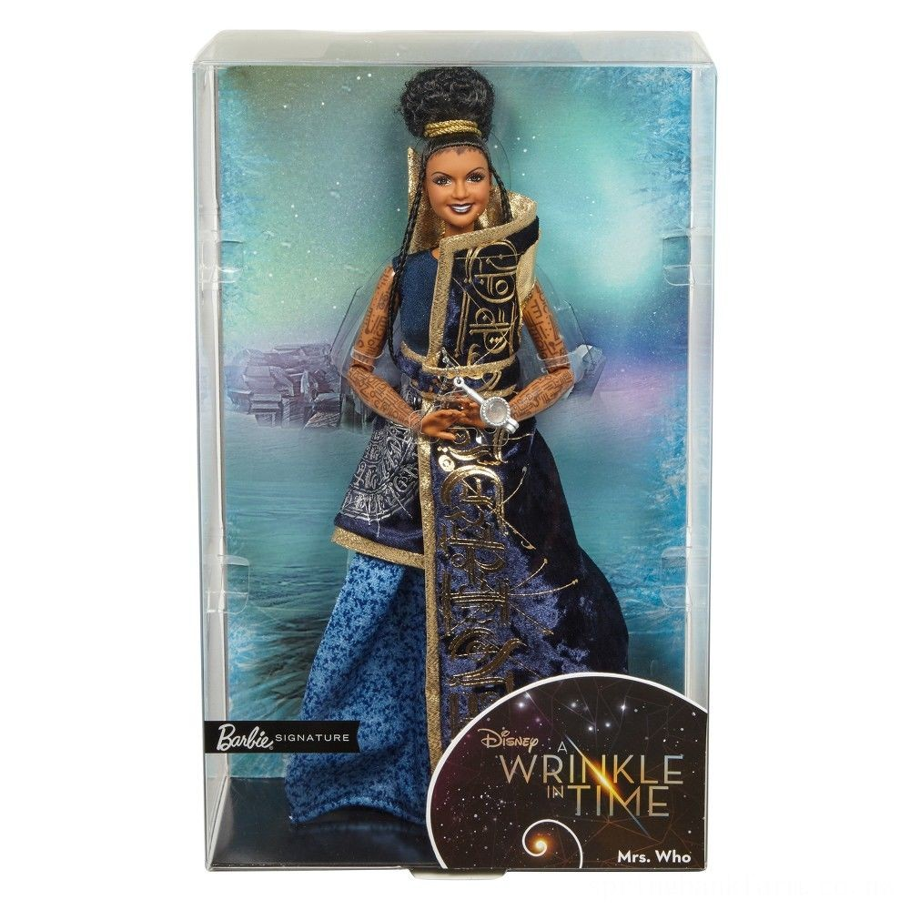 Disney Barbie Collector A Wrinkle in Time Mrs. Who Doll Deal